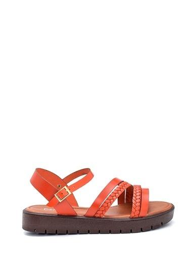 Derimod Kadın Sandalet (321) Casual Oranj